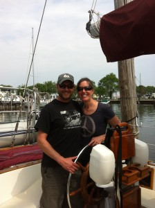 Capt. Dave and Mary McGinnis:  Proud new owners!